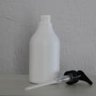 HDPE-fles-wit-250-ml-met-pomp