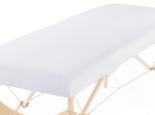 wit hoeslaken voor massagetafel