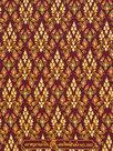 thaise doek maroon bordeaux