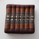 Kapok-zitkussen-brons-bruin