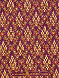 thaise doek paars rood