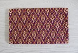 Thaise sarong 200 cm paars_35