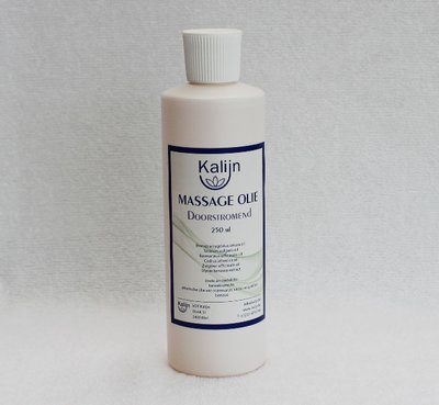 Massageolie Kalijn doorstromend 250 ml