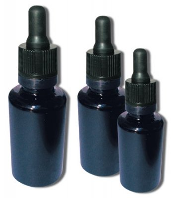 Violet pipetflesje 10 ml