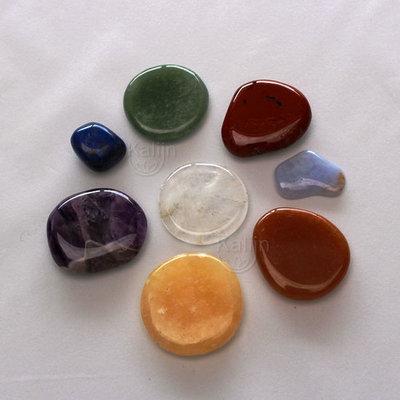 Chakrastenen - 8 edelstenen