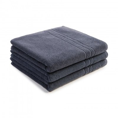 Handdoek 50x90cm antrasiet