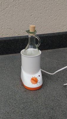 Massageolieverwarmer met karaf 250 ml