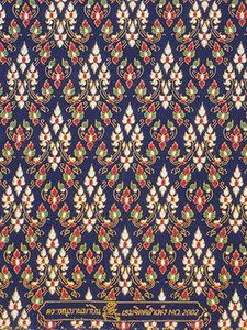 thaise doek donkerblauw