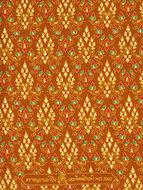 thaise doek mosterdgeel