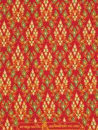 thaise doek rood